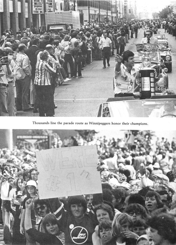 1976 Avco Cup parade