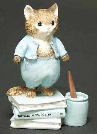 Border Fine Arts World of Beatrix Potter Tom Kitten - Boxed