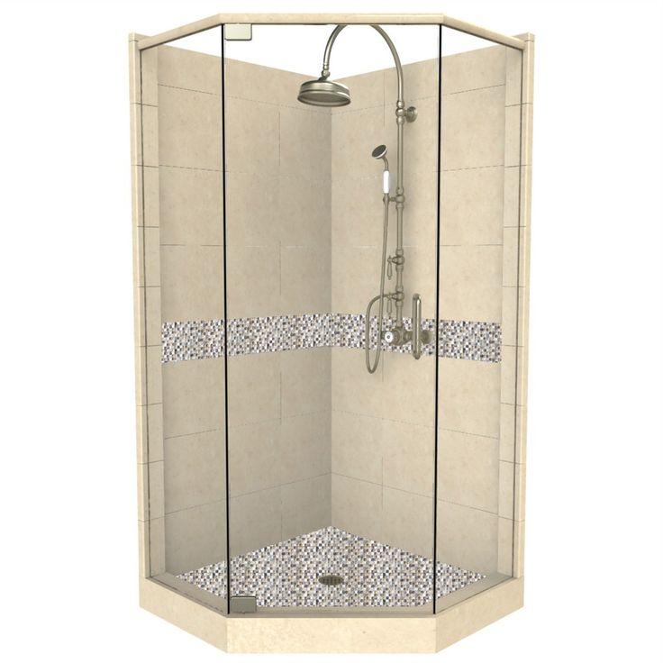 Charming Neo Angle Shower Kit 36 X 36 Photo   4