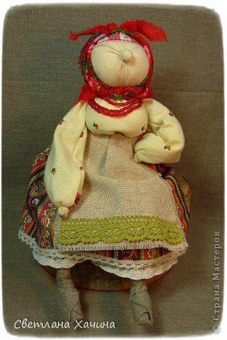 Куклы Шитьё ХарАктерные бабуськи народная кукла Ткань Шпагат фото 7