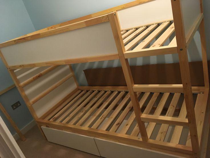 My dad's IKEA hack kura bunk beds