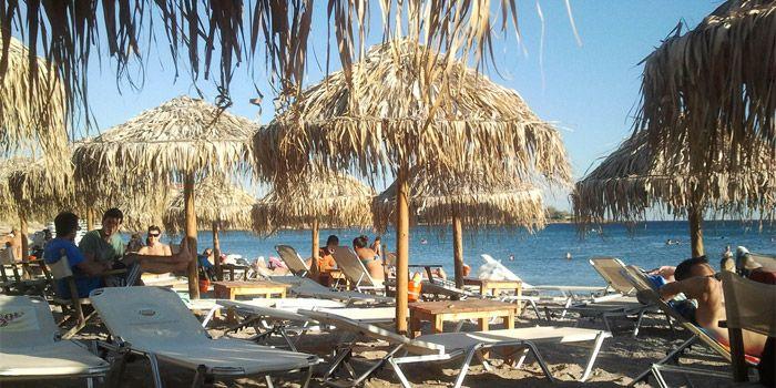 Пляж Лагониси