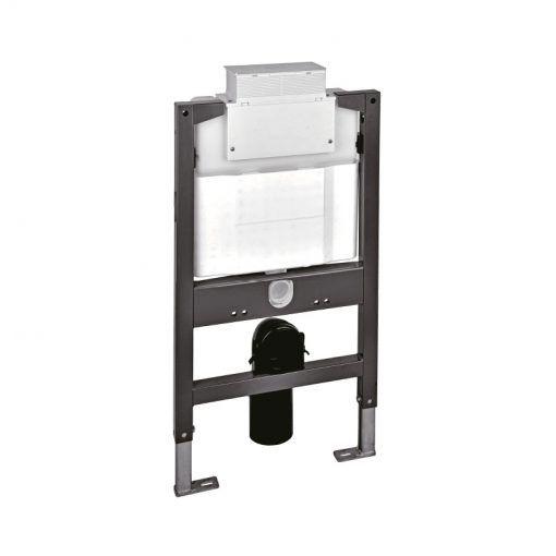 FLUSHE 820mm universal framed cistern w/front or top flush – mechanical flush