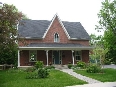 12 best images about gothic revival farm houses on for Gothic revival farmhouse