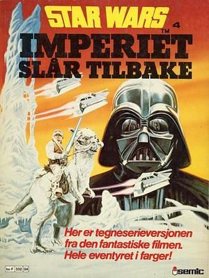 """Star Wars 4 Imperiet slår tilbake - Star Wars album 4"" av Archie Goodwin"