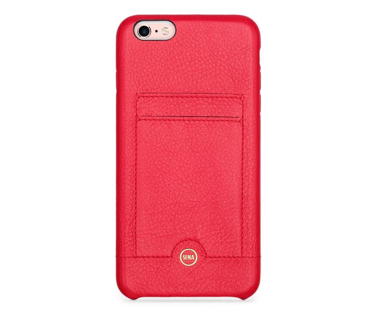 Electronics :: Cell Phones accessory :: For iPhone Accesorry :: Leather case for iPhone 6/6s/7 Sena Snap On-Red