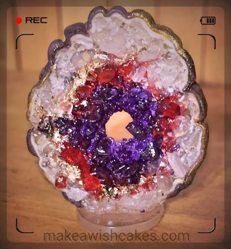 how to make chocolate geodes