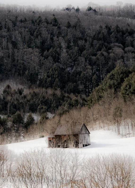 """Winter is the time for comfort, for good food and warmth, for the touch of a friendly hand and for a talk beside the fire: it is the time for home."" - Edith Sitwell  ( Photo: peaceful Vermont by Liz Mackney)"