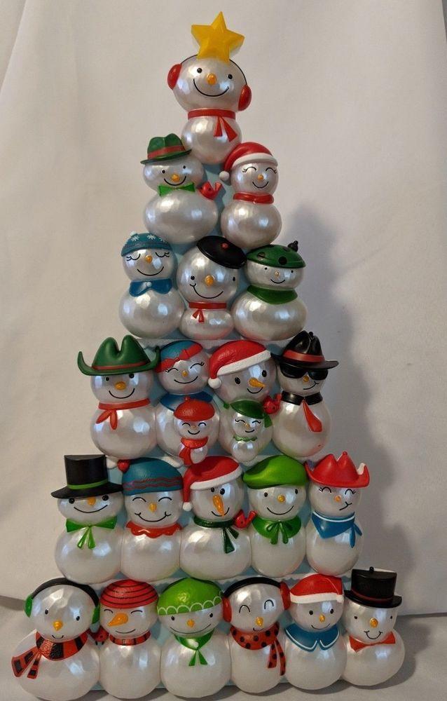 Details about Hallmark 2014 Christmas Concert Snowman Section 2