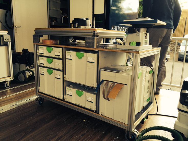 Festool | Festool - MFT Workbench / Sysport | Pinterest | Woodworking