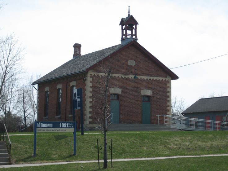 Zion Schoolhouse, North York, Ontario: throwback to rural ...