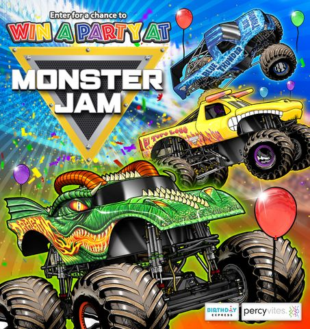 **This post contains affiliate links and I will be compensated if you make a purchase after clicking on my links Monster Jam Party Giveaway by Birthday Express Do you and your family love Monster J…