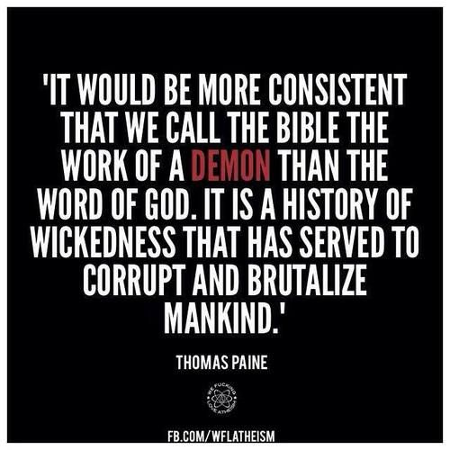 Thomas Paine. I can't stand when people insist that America was founded by Christians to be a Christian nation... It was NOT. And anyone with even a basic knowledge of high school history would know that.