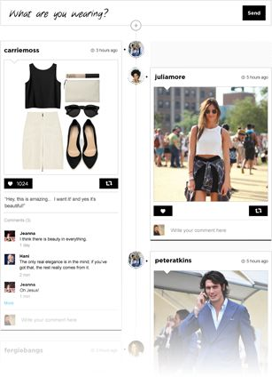 Discover what people are wearing right now   NETROBE