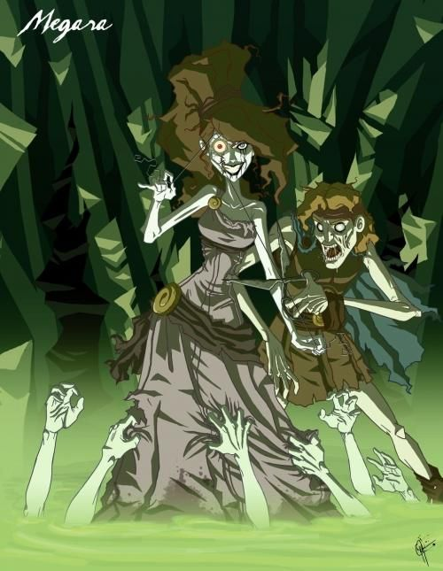 if the disney princesses were evil bad megara the