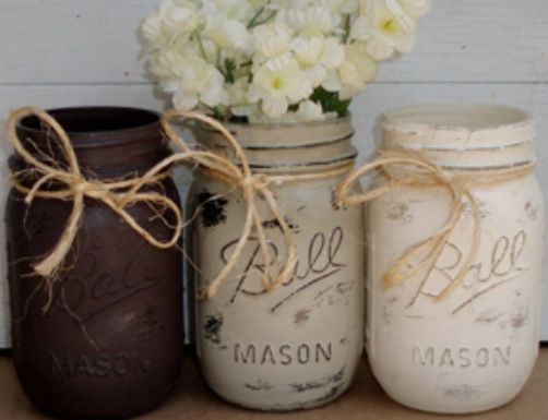mason+jar+crafts+ideas | Mason jar | Craft Ideas