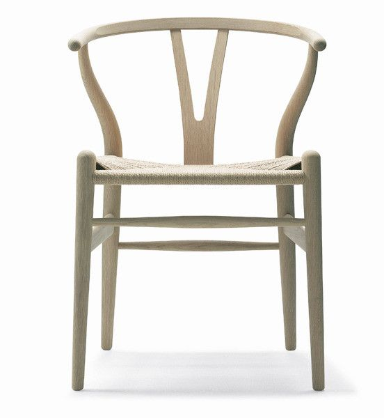 Wegner's Wishbone Chair in Ash Wood