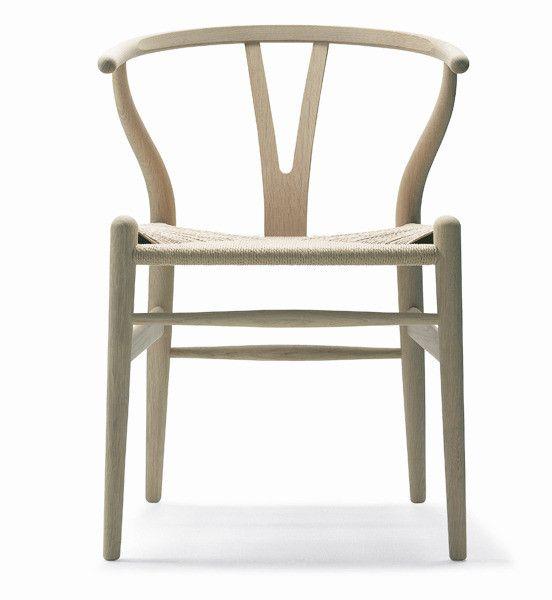 Wegner's Wishbone Chair in Ash Wood