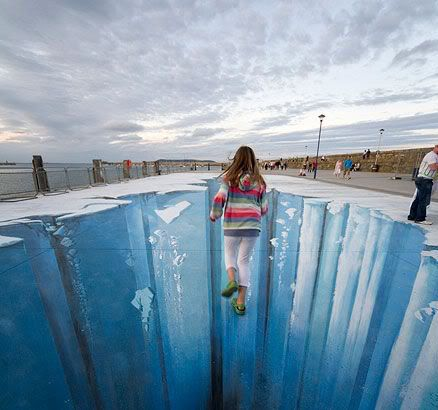 3D chalk art = mind blown