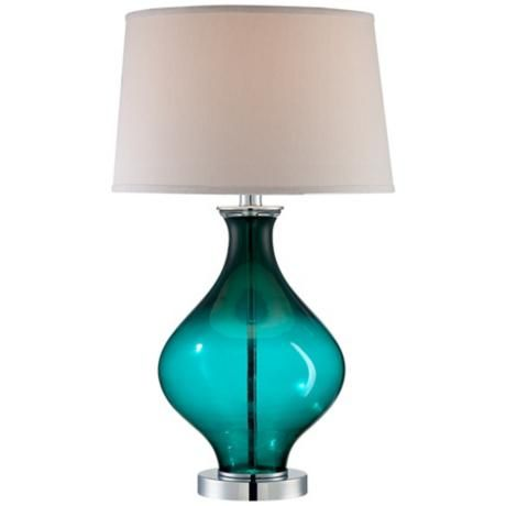From a clean glass or brushed steel style for the bedroom nightstand to elegant looks for entertaining areas, Lamps Plus offers thousands of table lamps to give your space a designer feel.