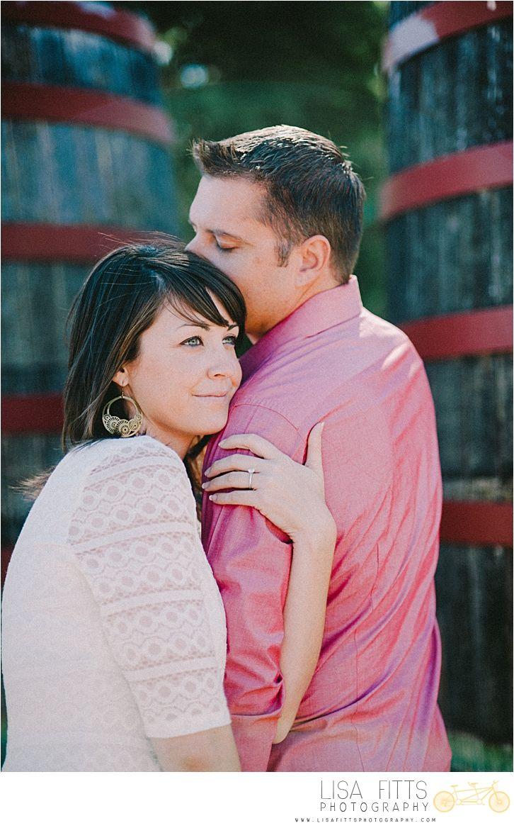 Vineyard Engagement Photos - www.lisafittsphotography.com