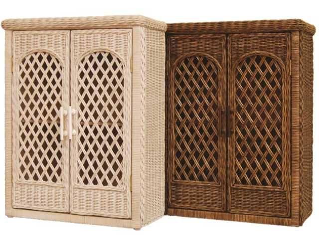 43 best wicker bathroom furniture images on pinterest - Wicker bathroom storage cabinets ...