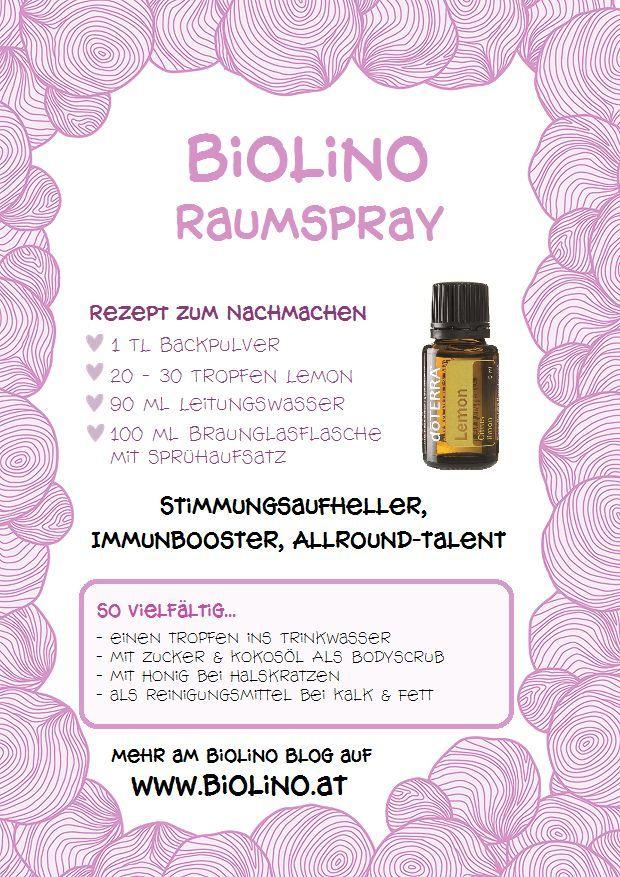 Atherisches Ol Doterra Wien Lemon Biolino Blog Popospray Entspannungsba Spray Raumspray Baby Zahne