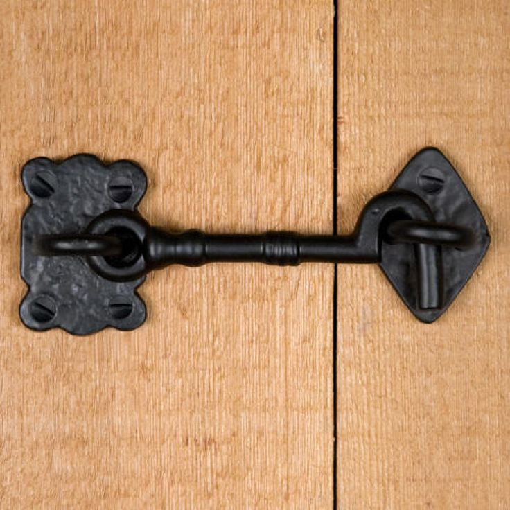 Hand-Forged Iron Cabin Door Hook Latch & Best 25+ Door hooks ideas on Pinterest | Rustic dog toys Puppies ... Pezcame.Com