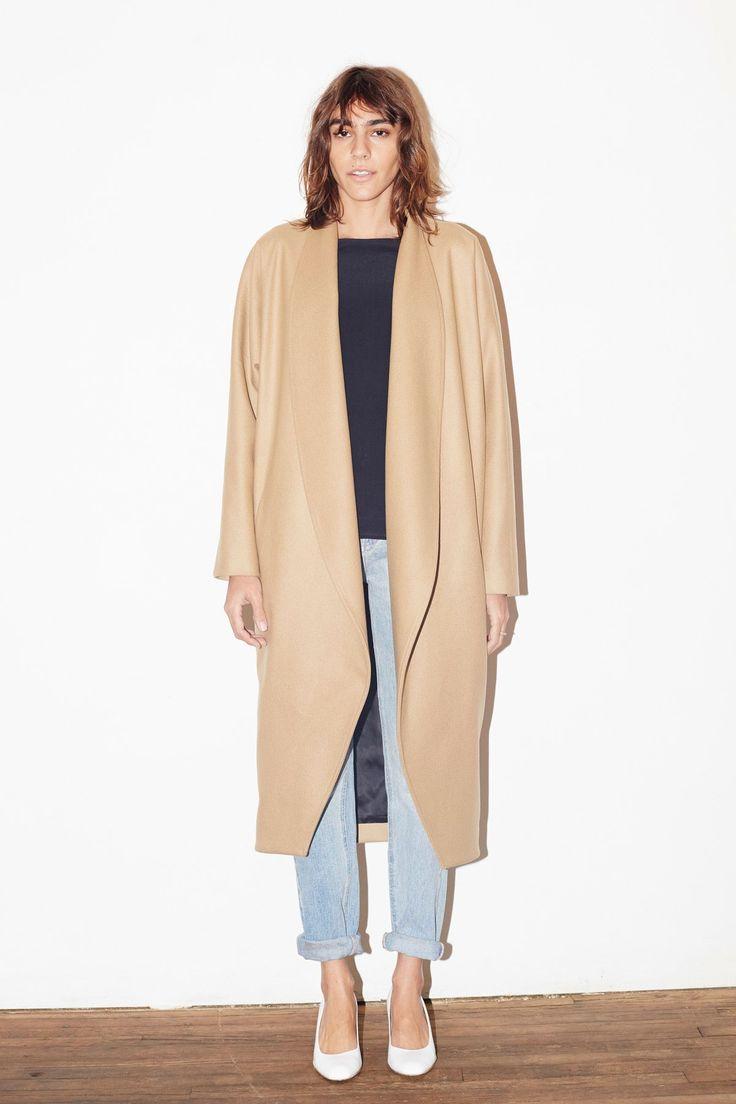 Kyran low freelance fashion stylist from london sam way adon - Camel Cashmere Wool Escape Coat