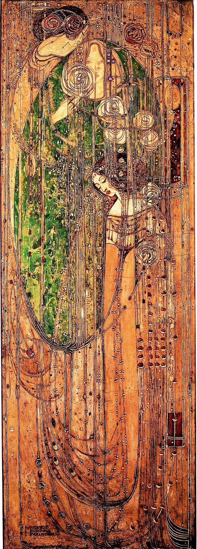Margaret MacDonald o ye all ye that walk in willowwood. Adore her, and not just because she was a MacDonald, aye!