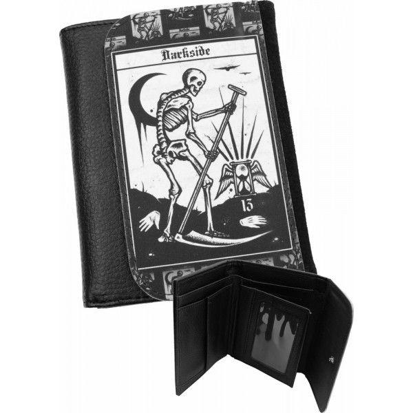 Death Tarot Card Mens Wallet