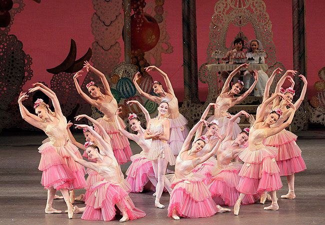 Saw this version of The Nutcracker ballet on public television this past December. I love those costumes!