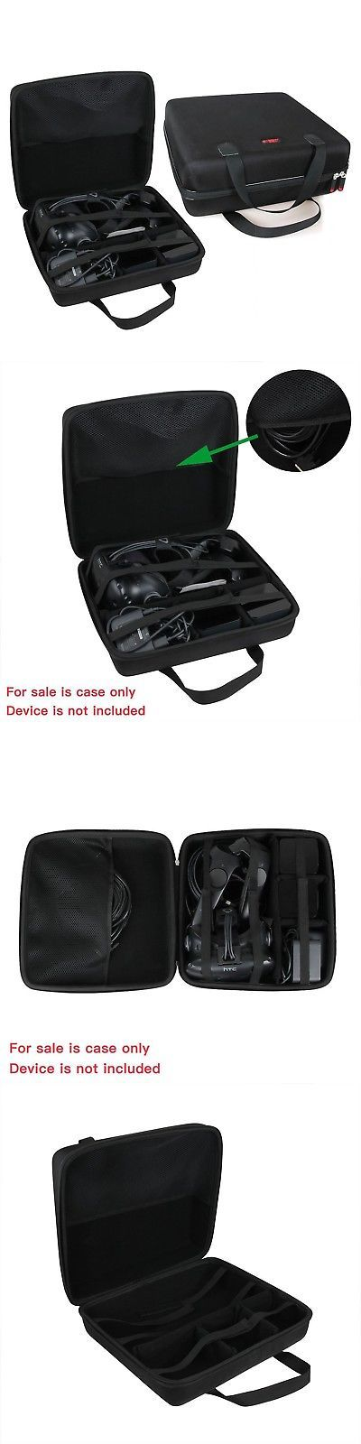 PC and Console VR Headsets: Hard Eva Travel Case For Htc Vive - Vr Virtual Reality System By Hermitsh... New -> BUY IT NOW ONLY: $52.93 on eBay!