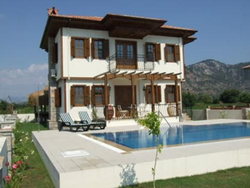 Yasemin Evi - 3 bedroom private villa with own pool in very rural setting but still close to town. Available for holiday rental.
