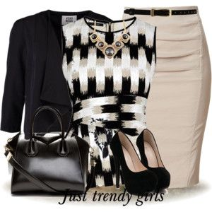 pencil skirt outfit