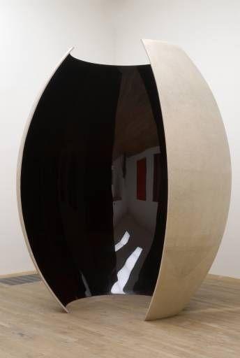 Anish Kapoor espacio huevo curvo reflejo