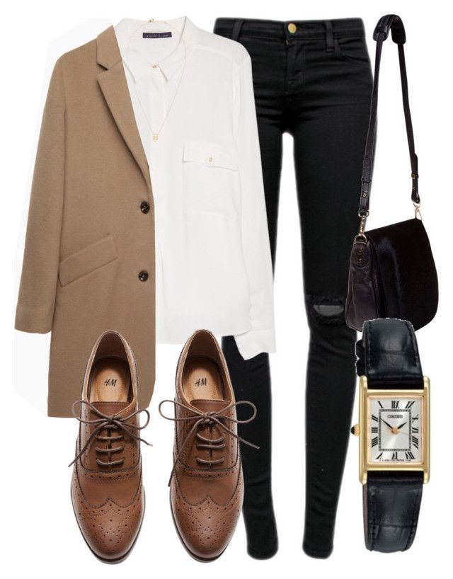Untitled #4174 by laurenmboot ❤ liked on Polyvore featuring J Brand, Violeta by Mango, A.P.C., H&M, Jeweliq, Nomadic and Seiko