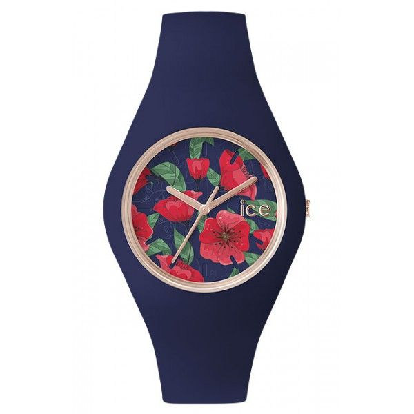 ICE.FL.SED.U.S.15 - ICE-WATCH Flower  SEDATION - Rose Gold - 100 Metres Water Resistant - Free Delivery