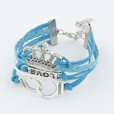 2017 New Bracelets Jewelry Multilayer Charm Bracelet Leather Anchor Bracelet Men Women Zinc Alloy 18cm Fashion Bijoux Rope Chain