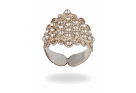 Artigiano: Libero Gioielli S.A.S. di Lai Rosa Giovanna, Stato: Italia, Regione: Sardegna, Località produzione:  Dorgali, sardinian gold wedding ring