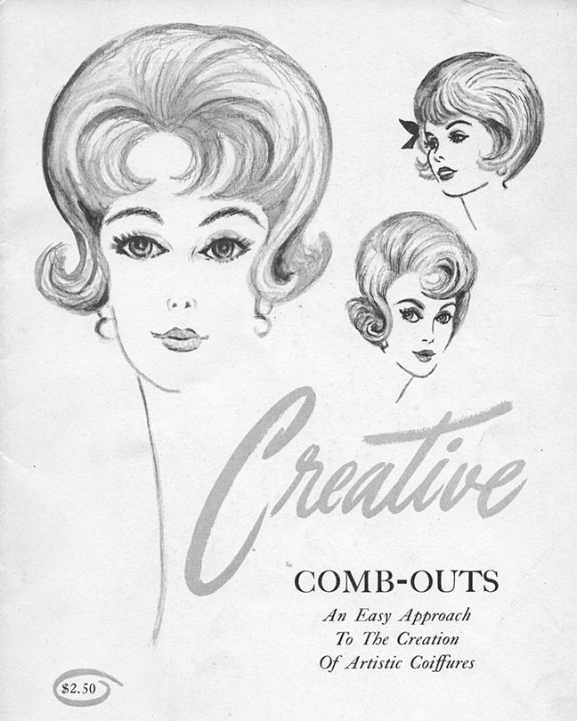 Vintage Creative Combing Hairstyle Magazine - 1950s, 1960s hair. Bobby Pin Blog