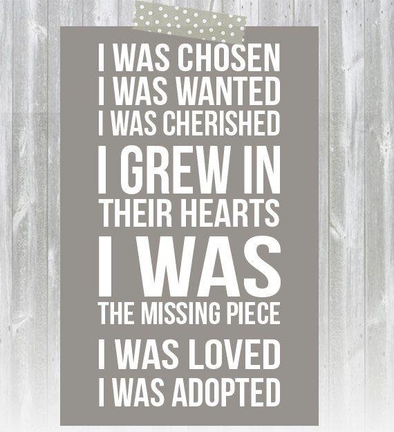 Adoption Print by AugustBloomDesigns