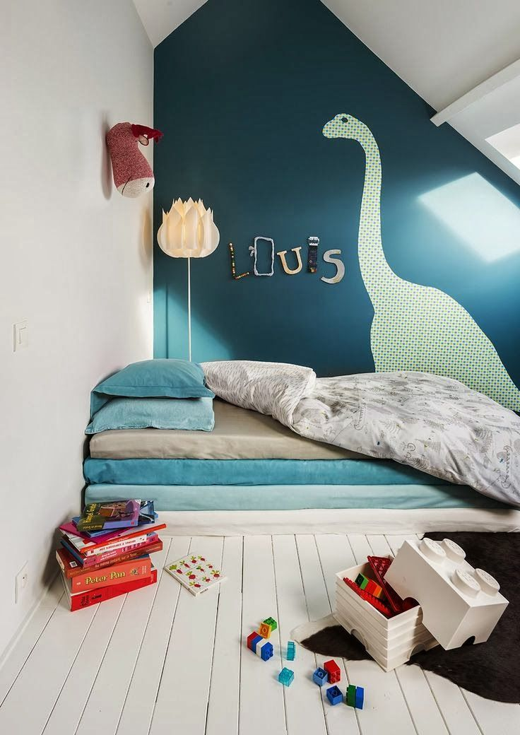 DINO DECOR - mommo design - Great Kids Room Ideas: www.IrvineHomeBlog.com Contact me for any Questions about the Real Estate Market, Schools, Communities around Irvine, California.:
