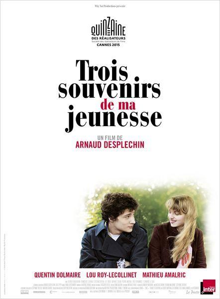 """♥♥♥♥ """"Trois souvenirs de ma jeunesse"""", un drame d'Arnaud Desplechin avec Quentin Dolmaire, Lou Roy Lecollinet, Mathieu Amalric... (06/2015)"""