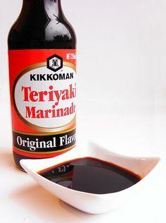 Recept voor teriyaki saus cq marinade  Onderaan recept kip teriyaki bij reacties