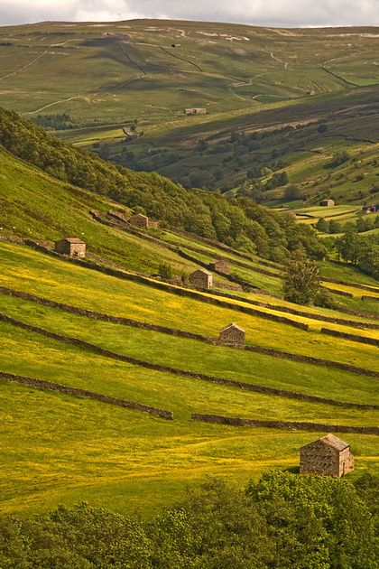 Swaledale, Yorkshire Dales, Britain                                                                                                                                                      More