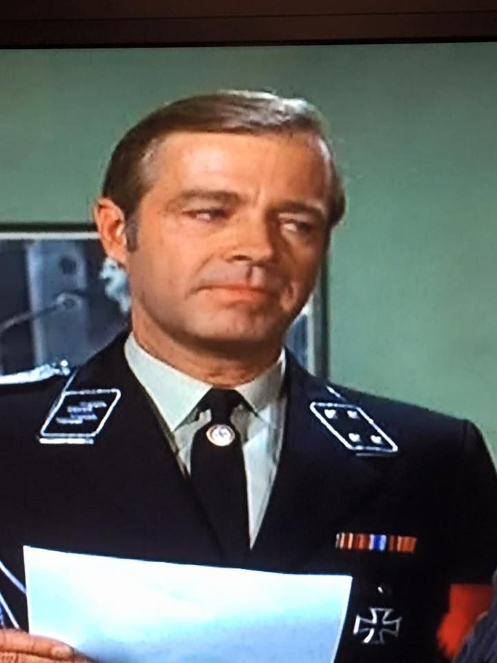 Forward >> Forrest Compton (Mike Karr, THE EDGE OF NIGHT) when he appeared on HOGAN'S HEROES | THE EDGE OF ...