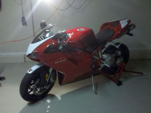 2010 Ducati 848 Sportbike , Red / White, 7,400 miles for sale in Phoenix, AZ