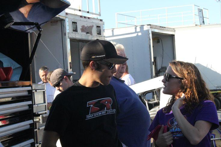 Bryan Clauson. Budweiser Oval Nationals. Perris Auto Speedway. Nov 1, 2013.