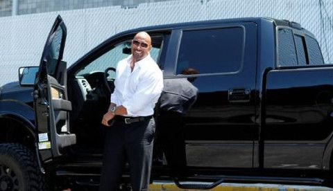 The ROCK and his Ford Truck | Celebrities & Their Fords ...